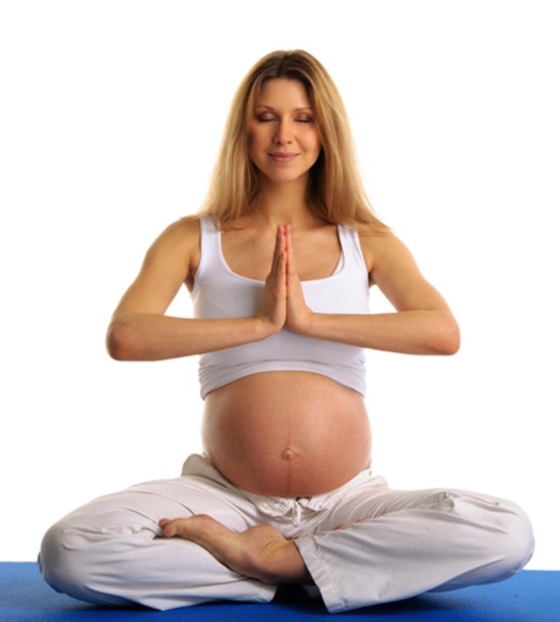 Занятия йогой для беременных в СПб